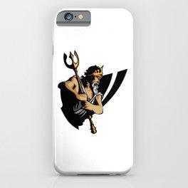 King Of Atlantis iPhone Case