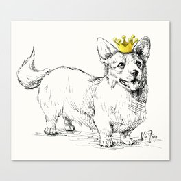 Your Highness Canvas Print