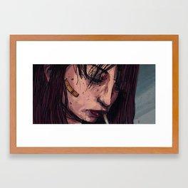 the same day again Framed Art Print