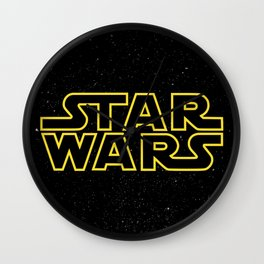 Star War Wall Clock