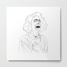donna hayward Metal Print