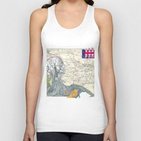 fig Tank Tops featuring Fig. 407 by judy lee