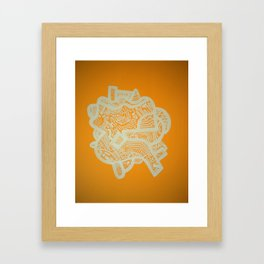 Grandstand Framed Art Print