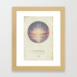 Fernweh Vol 5 Framed Art Print