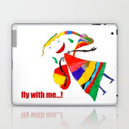 fly with me... Laptop & iPad Skin