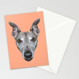 Whippet // Peach (Vespa) Stationery Cards