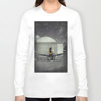 mustang Long Sleeve T-shirts featuring Mustang by Jorgenson Art Syndicate