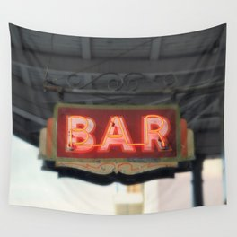 New Orleans Bar Sign Wall Tapestry