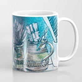 The Artist's Shelf Coffee Mug