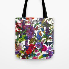 Botanical Butterflies Tote Bag