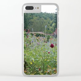 Garden House Clear iPhone Case