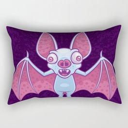 Albino Vampire Bat Rectangular Pillow