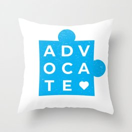 Advocate Throw Pillow