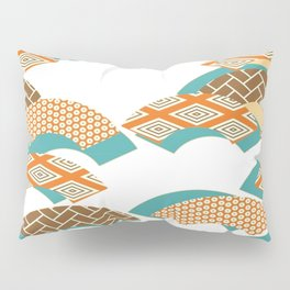 Geometry wind pattern Pillow Sham