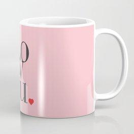 Love U Typo #society6 #decor #buyart Coffee Mug