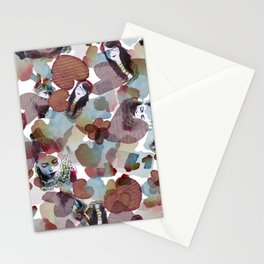 Girls on blossoms Stationery Cards