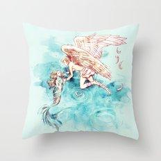 Star-cross'd Lovers Throw Pillow