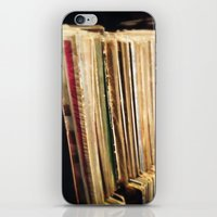 vinyl iPhone & iPod Skins featuring Vinyl by strentse