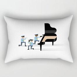 Freeze! Rectangular Pillow