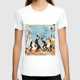 Death Comes (The Bad Doctors) portrait painting by James Ensor T-shirt