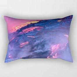 Kilauea Volcano Lava Flow. 4 Rectangular Pillow