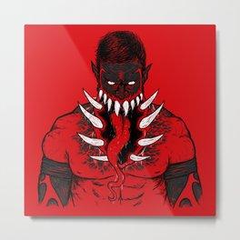 The King Demon  Metal Print