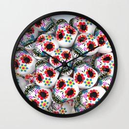 Band of Skulls Wall Clock
