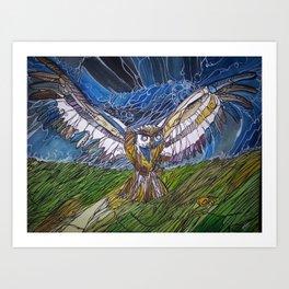 Night Hunter Art Print