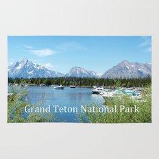 Grand Teton National Park. Landscape photography. Rug