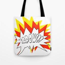 Comic with the write Kapow!! - Vector Tote Bag