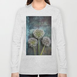 Three Allium Flowers Long Sleeve T-shirt