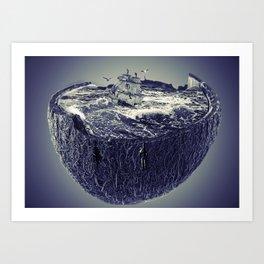 CoconutWaves Art Print