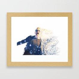 u2's Bono Framed Art Print