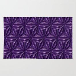 Engraved Surface Ultraviolet Rug