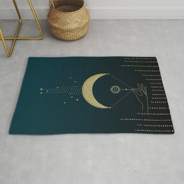 The Magic Of The Moon  Rug