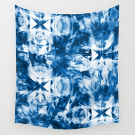 Bohemian Blue Wall Tapestry