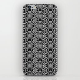 Zebra Illusions Pattern iPhone Skin