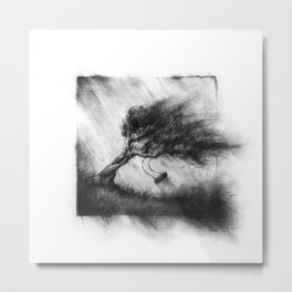 The Breeze of Late Summer Days Metal Print