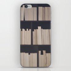 Books books books iPhone & iPod Skin