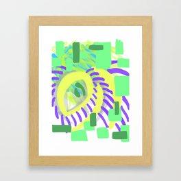 vibrant eye Framed Art Print