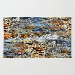 Peaceful Soothing Waters Rug