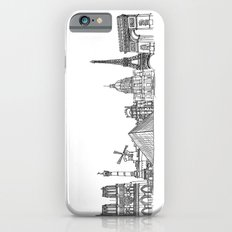 Paris Landmarks by the Downtown Doodler iPhone 6s Slim Case