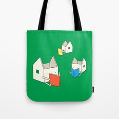 Every house has it's own story Tote Bag