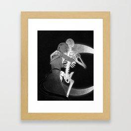 An end (when the day dies) Framed Art Print
