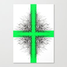 Modern Cross Canvas Print
