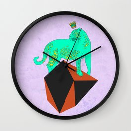 Natural Treasures nº3 Wall Clock