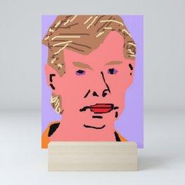 Jeffrey Dahmer Mugshot Mini Art Print