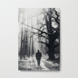 The past is now Metal Print