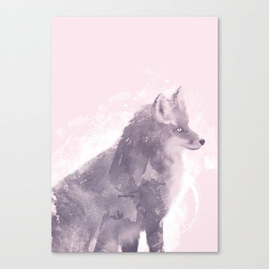 The Foxy Lady Canvas Print