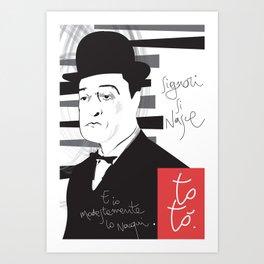 TOTØ Art Print